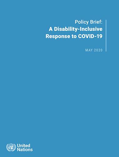 Una respuesta a COVID que incluye a personas con discapacidad