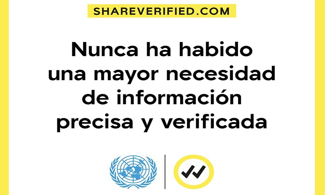 Verificado: Comparte información que puede salvar vidas en tus redes