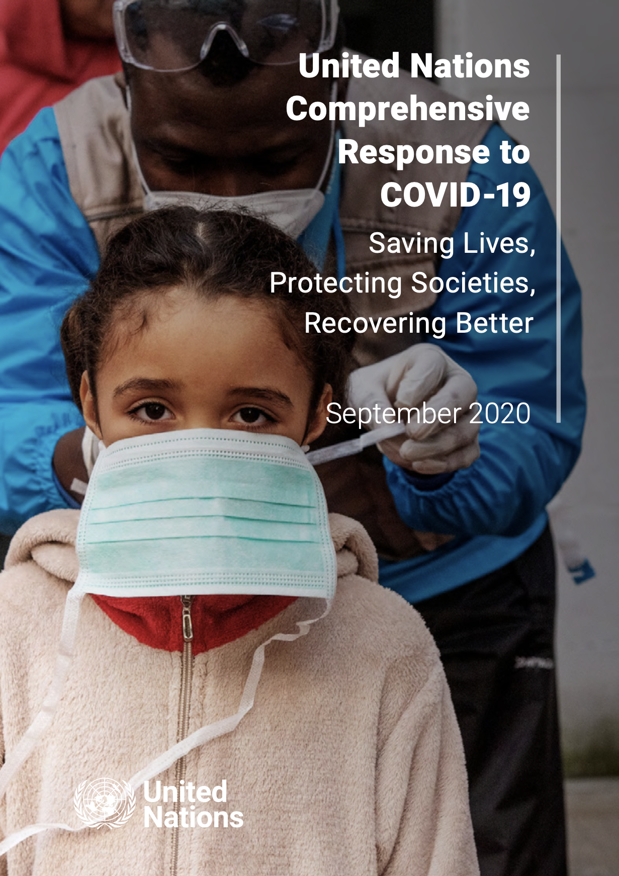 Respuesta integral de la ONU a la COVID-19 - actualización a septiembre 2020