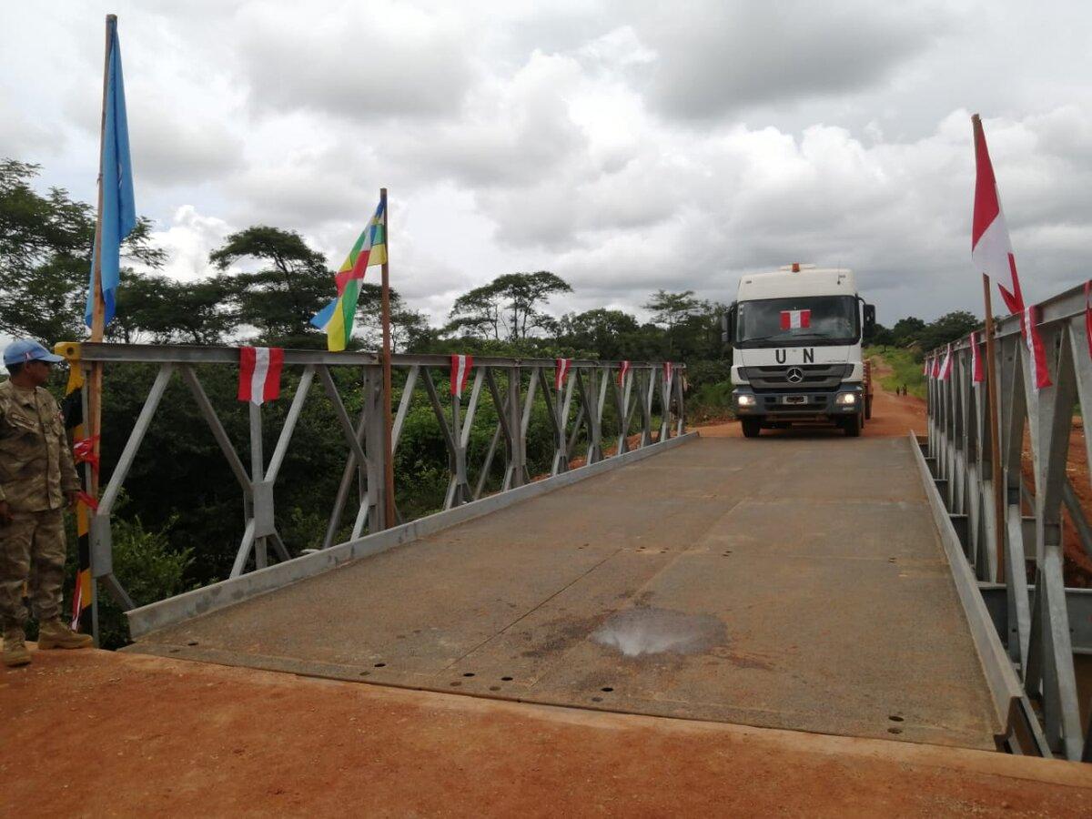 Cascos Azules peruanos y su aporte en República Centroafricana