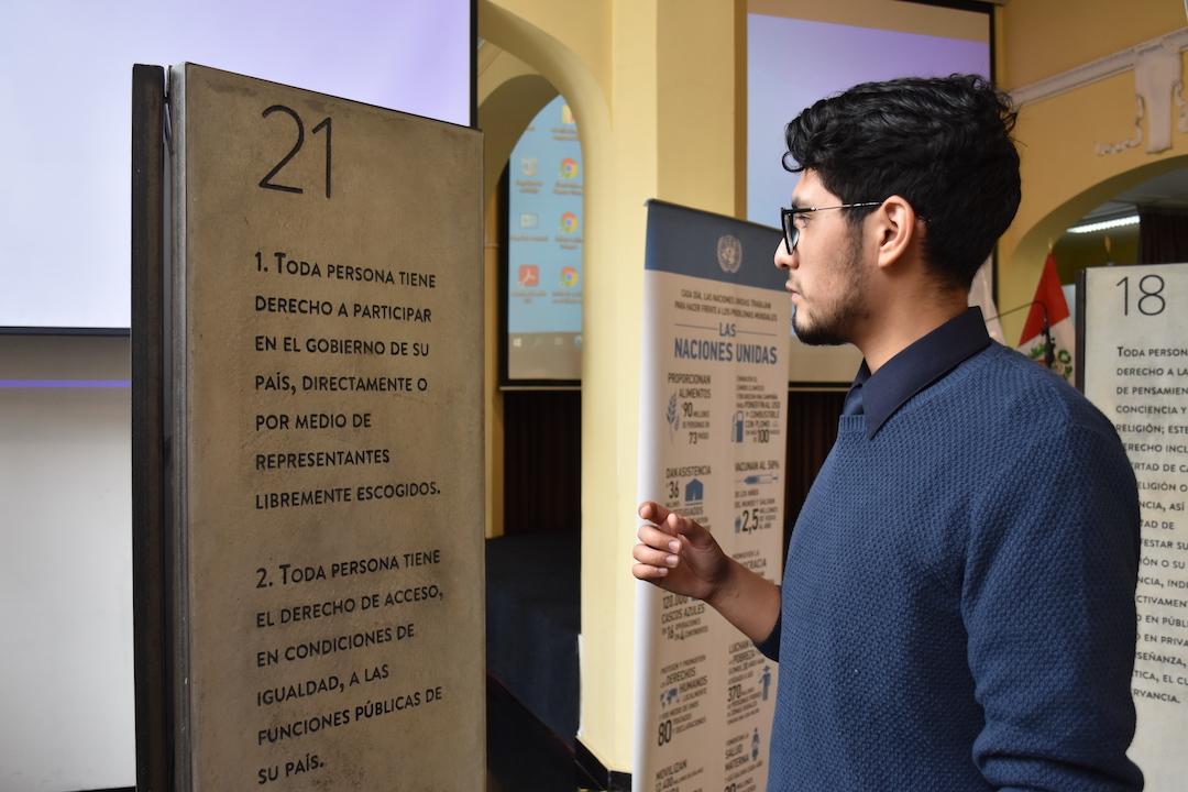 Inscritos en piedra: Declaración Universal de los Derechos Humanos