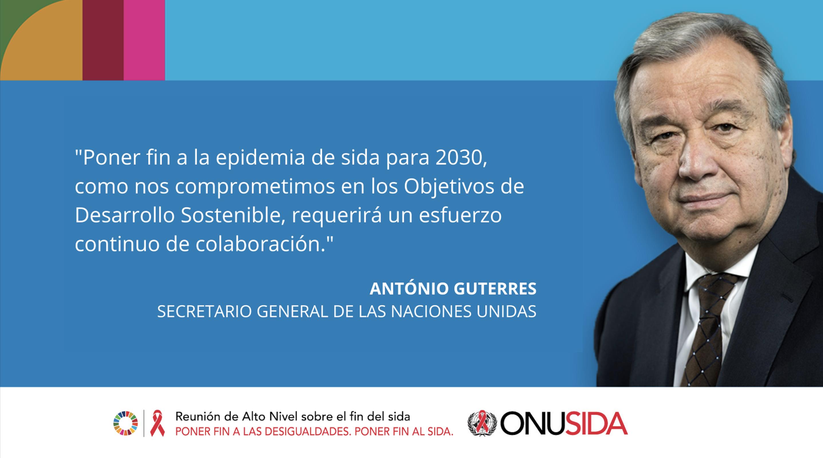 Poner fin al sida para el 2030