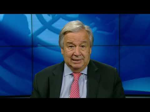 Mensaje del secretario general, António Guterres, por 75 aniversario de la ONU