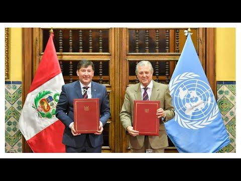 Firma del Marco de Cooperación ONU 2022 - 2026